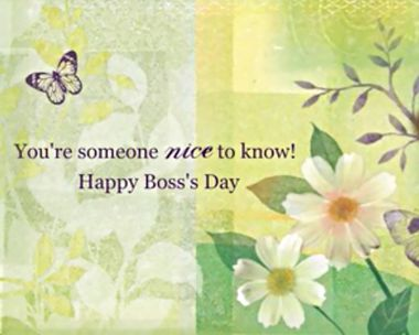 Happy Boss's Day Ecard
