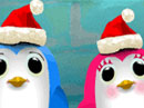 Caroling Penguins (Personalized) Christmas eCards