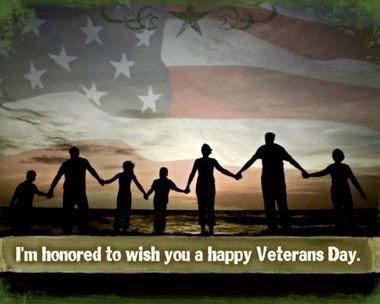 In Honor of a Special Veteran Ecard