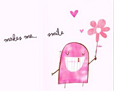 You Make Me Smile Ecard