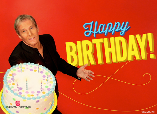 michael bolton birthday song personalized lyrics  happy, Birthday card