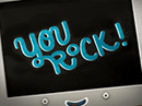 You Rock 'Takin' Care of Business' Ecard (Famous Song) Thank You eCards