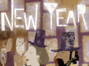 Jazzy New Year (Famous Tune) New Year's Day eCards