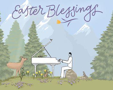 Sending Easter Blessings