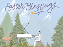 Sending Easter Blessings Easter eCards
