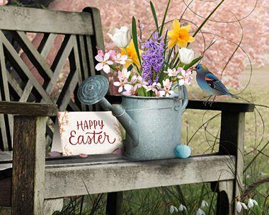 Lovely Easter Garden