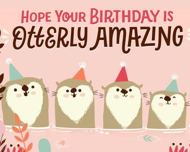 Birthday Congratulations Card Birthday Card #055 Digital Oasis 7