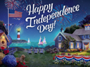 New England 4th Independence Day eCards