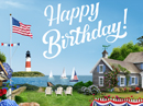 Patriotic Birthday Birthday eCards