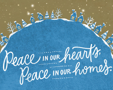Peace in Our Hearts and Homes