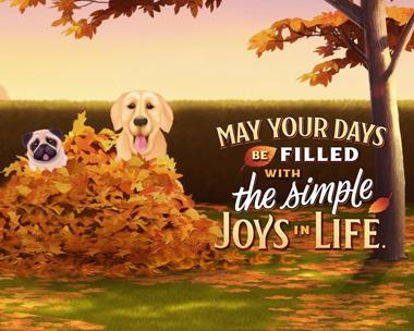 Simple Joys Thanksgiving