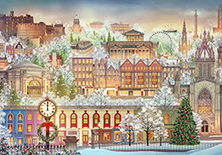 Edinburgh Advent Calendar $5.00 purchase