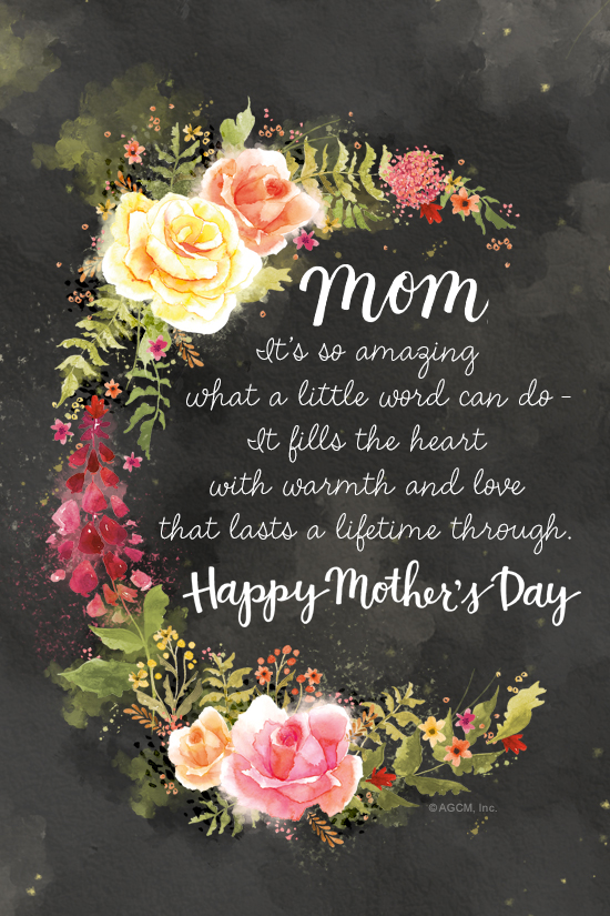 Mother S Day Poem Mother S Day Ecard Blue Mountain Ecards