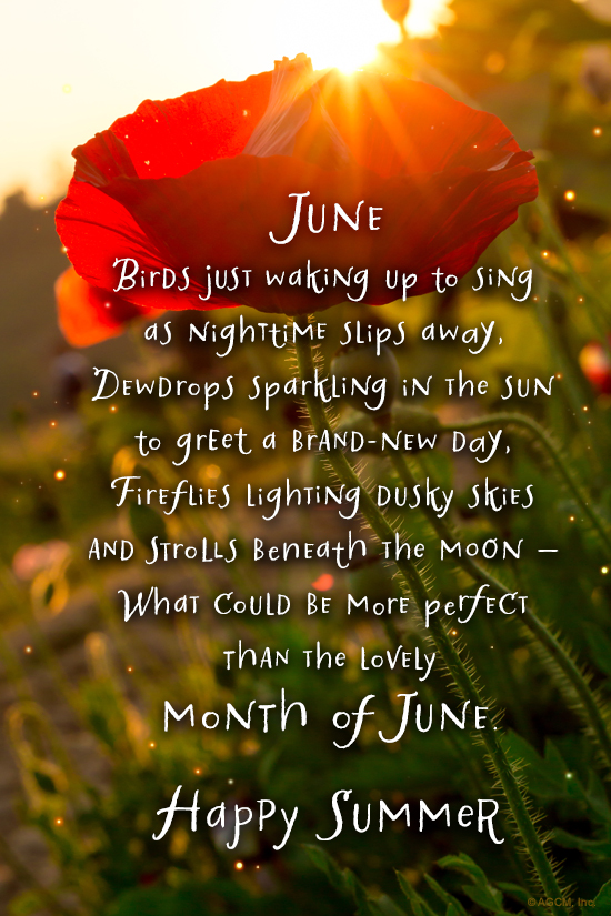 Quot June Poem Quot Summer Ecard Blue Mountain Ecards