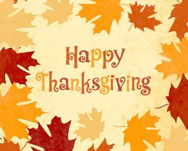 Canadian Thanksgiving 10/12