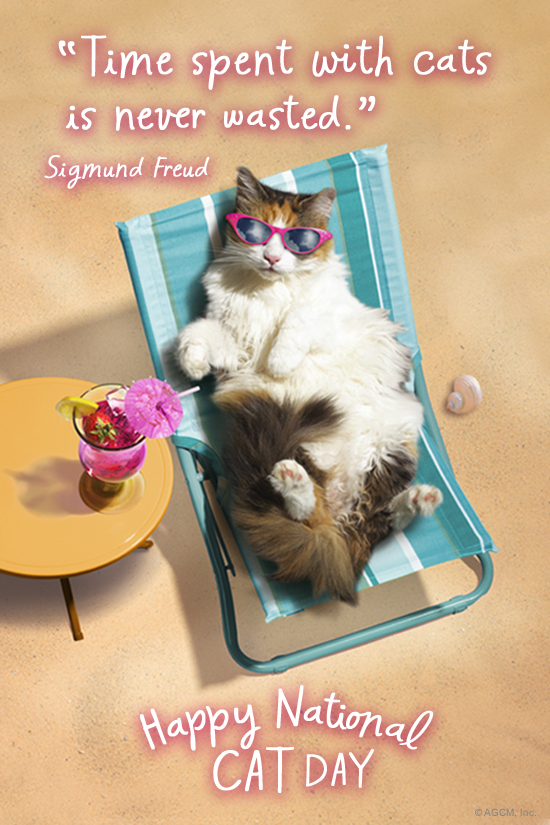 National Cat Day 10 29 18 October Ecard Blue Mountain Ecards