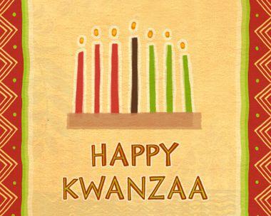 Kwanzaa<br>12/26