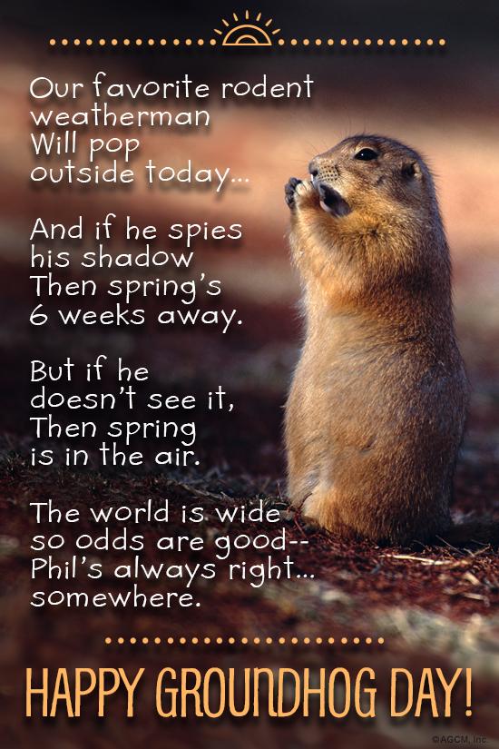 Groundhog day 2218 groundhog day ecard blue mountain ecards ecard verse m4hsunfo