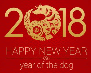 Chinese New Year Year of the Dog