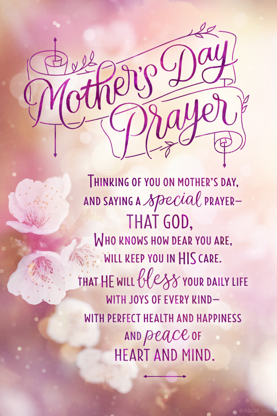 u0026quot mother u0026 39 s day prayer ecard u0026quot