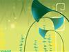 Exotic Wetland Green  -- Free Trendy, Screensavers from American Greetings