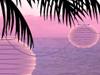 Tropical Lights  -- Free Anyone, Screensavers from American Greetings