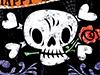 Skull and Crossbones  -- Free Halloween, Holiday Desktop Wallpapers from American Greetings