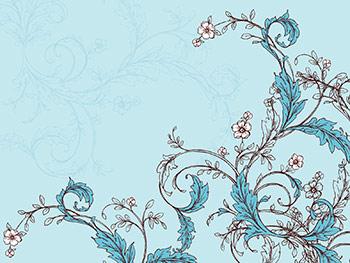 Elegant Vine Wallpaper Blue Mountain Ecards