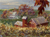 Farm in October  -- Free , Desktop Wallpapers from American Greetings