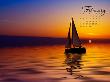 Sailing at Sunset Wallpapers