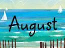 August Poem August eCards