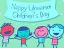 Univ'l Children's Day 11/20/18 Holidays eCards