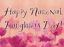 Nat'l Daughters Day 9/25/17 Seasons eCards