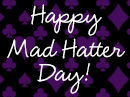 Mad Hatter Day 10/6/17 Holidays eCards