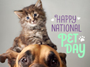 National Pet Day 4/11 April eCards