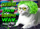 Be Fabulous! St. Patrick's Day eCards