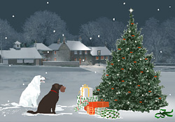 Seasons greetings the snowdog e card by jacquie lawson the snowdog m4hsunfo