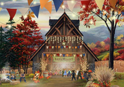 Happy Thanksgiving Barn Dance E Card By Jacquie Lawson