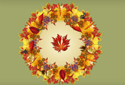 Autumn Twist ecard