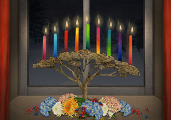 Colourful Candles