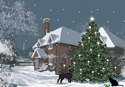Christmas Cottage - Placeholder