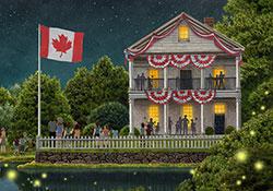 Patriotic Glow (Canada)