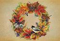 Autumn Wreath ecard