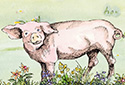 Pig Paradise ecard