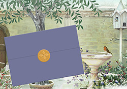 The Olive Tree note card