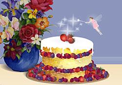 Birthday Cards Cake ~ Happy birthday card with birthday cake vector illustrations stock