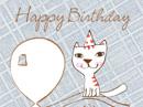 Singing Birthday Kitty Birthday eCards
