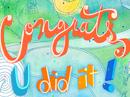 U Did It! Congrats Anytime eCards