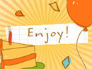 Pick a Wish Cootie Catcher Birthday eCards