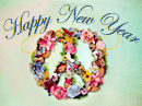 Peace in the New Year New Year's Day eCards